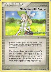 Mademoiselle Sortie