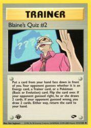 Blaine's Quiz #2