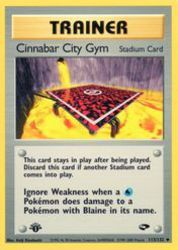 Cinnabar City Gym