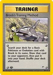 Brock's Training Method