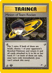 Minion of Team Rocket
