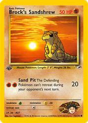 Brock's Sandshrew