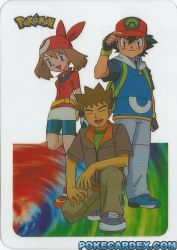 Ash, Brock et May