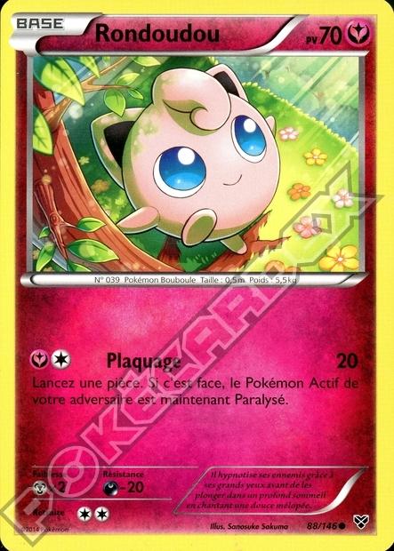 Pok cardex s rie xy - Carte pokemon fee ...