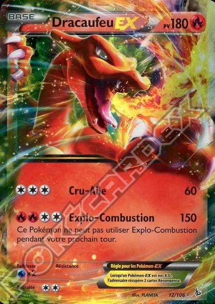 Le brasier de l 39 t a crache du feu pok cardex forum - Tout les carte pokemon ex du monde ...