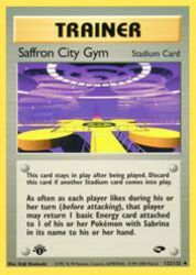 Saffron City Gym