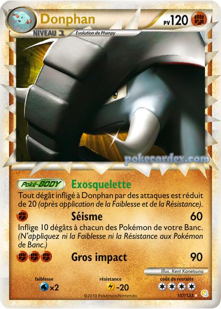 Toute les cartes rare de Pokemon 107