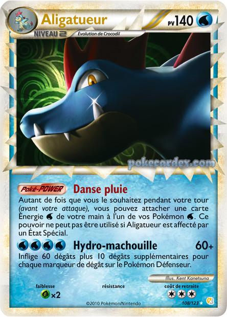 Toute les cartes rare de Pokemon 108