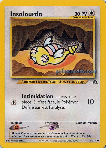 Toute les cartes rare de Pokemon 54