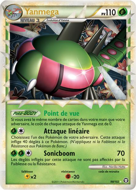 Toute les cartes rare de Pokemon 98