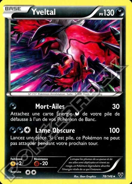 L 39 invasion de kalos rejoins le c t obscur pok cardex - Pokemon legendaire pokemon y ...