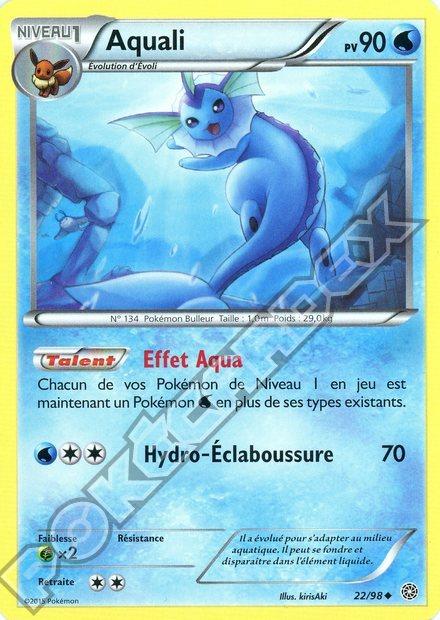 Pok cardex s rie origines antiques - Carte pokemon aquali ...
