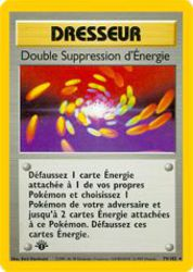 Double Suppression d'Énergie