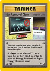 No Removal Gym