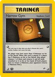 Narrow Gym