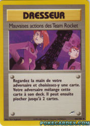 Mauvaises actions des Team Rocket