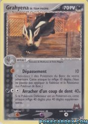 Grahyena de Team Magma