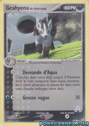 Grahyena de Team Aqua