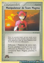 Manipulateur de Team Magma
