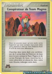 Conspirateur de Team Magma