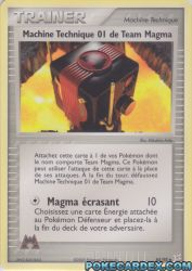 Machine Technique 01 de Team Magma